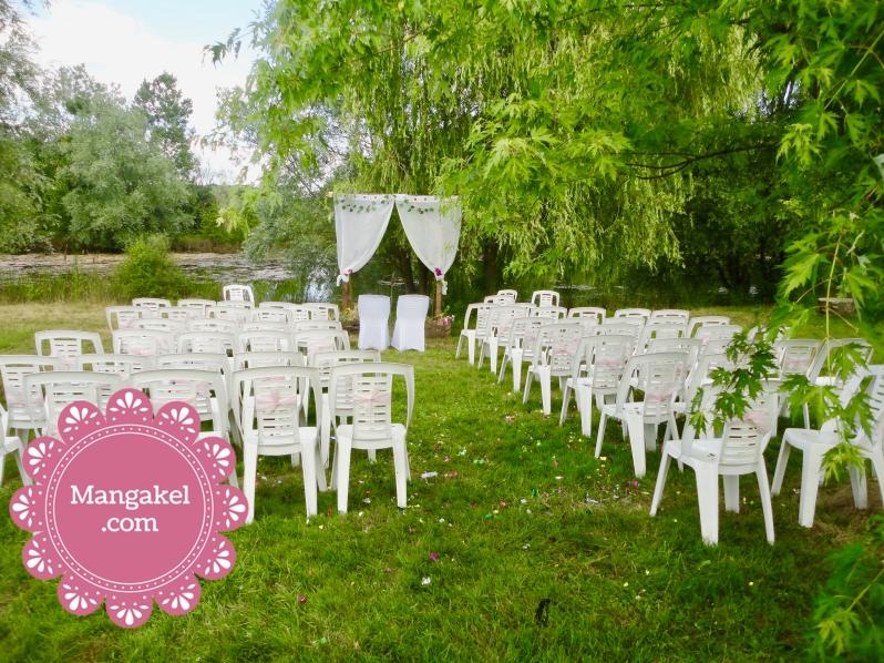 cérémonie de mariage en extérieur, mariage champêtre, mariage hippie chic