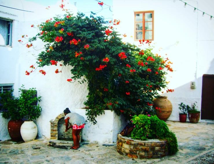 Santorini, les Cyclades, grosses jattes