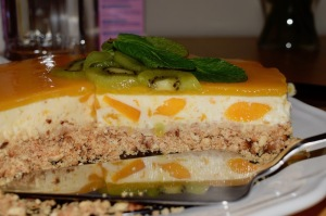 cheesecake coco mangue