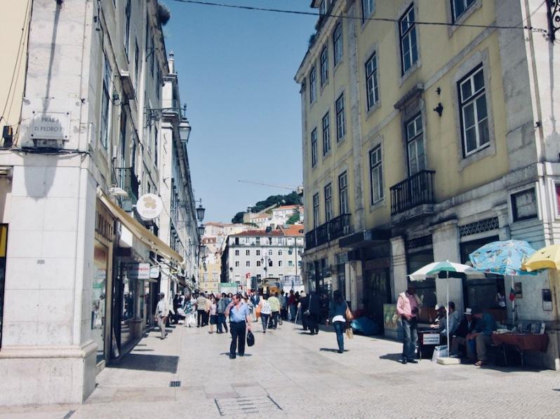 quartier La Baxia, Lisbonne