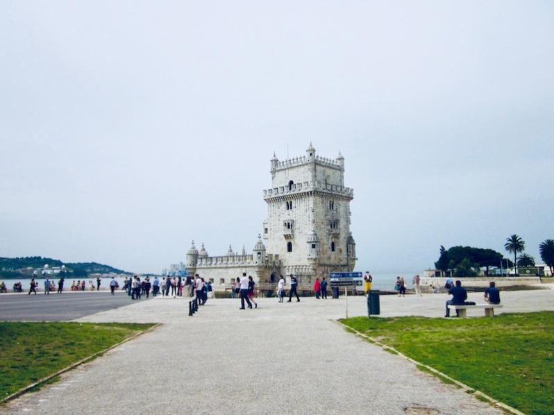la tour de Belém, Lisbonne