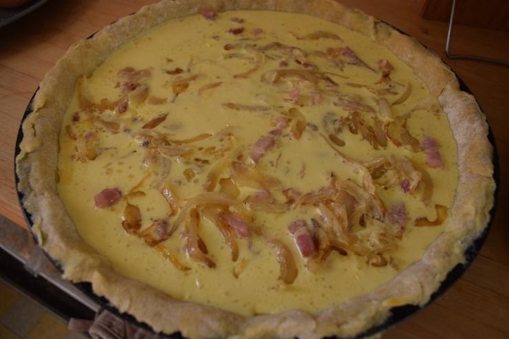 tarte à l'oignon cap cuisine