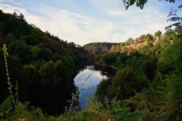 La vallée de la Creuse, la vallée des Peintres, Entre Berry et Limousin