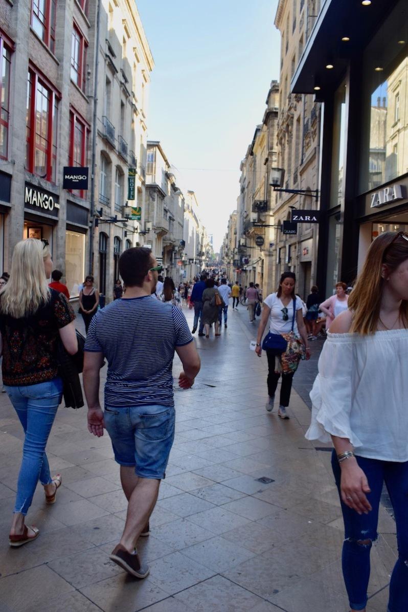 La rue Sainte-Catherine Bordeaux