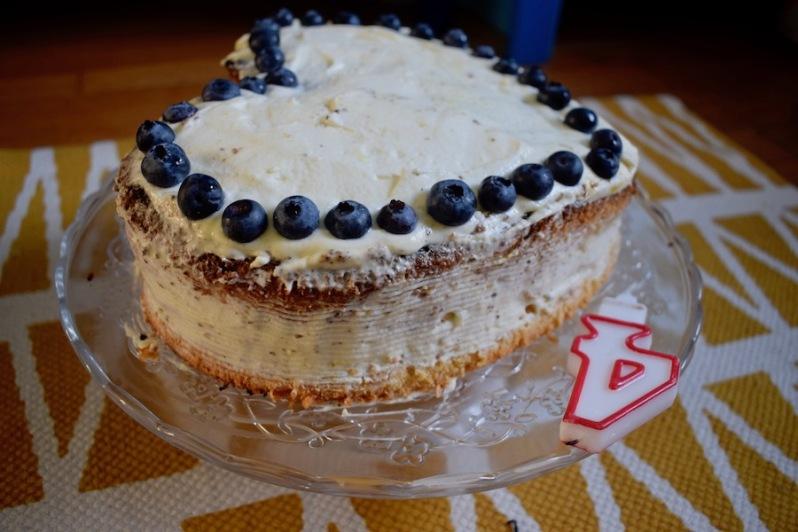 Chiffon cake façon Victoria cake