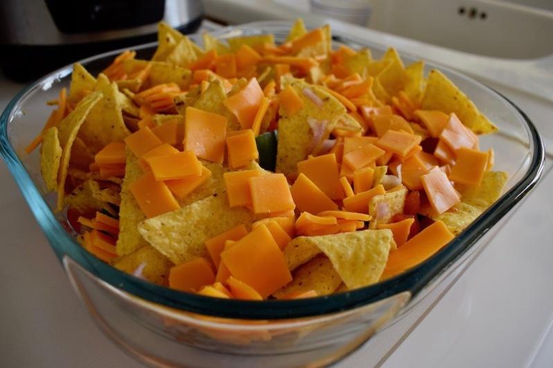 nachos maison, chips tortillas