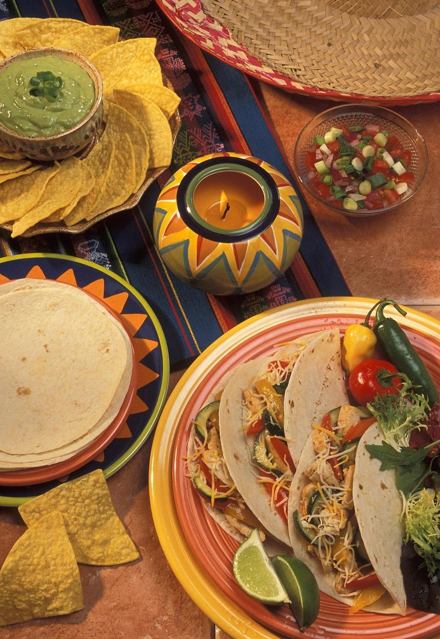 fajitas soirée mexicaine