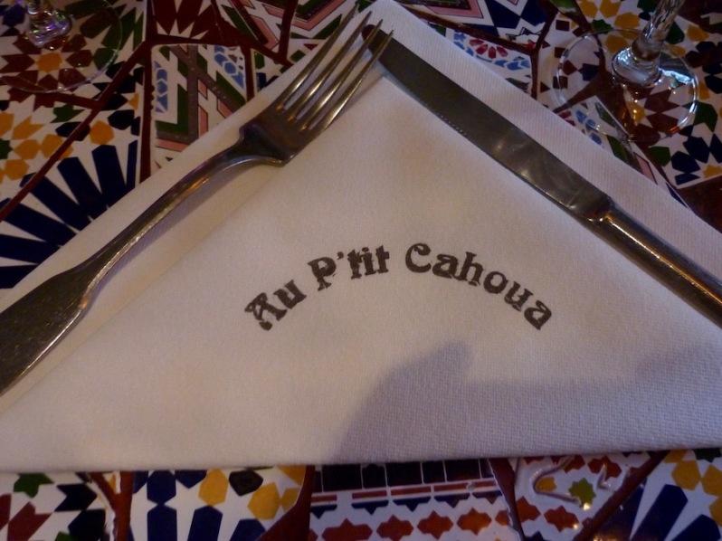 restaurant Au P'tit Cahoua Paris 13 ème, marocain