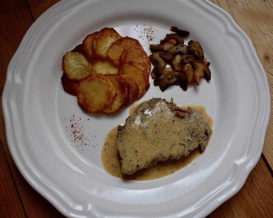 steak au poivre cap cuisine