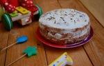 Gâteau express pour l'anniversaire de bébé : Génoise pomme, petits-suisses & citron