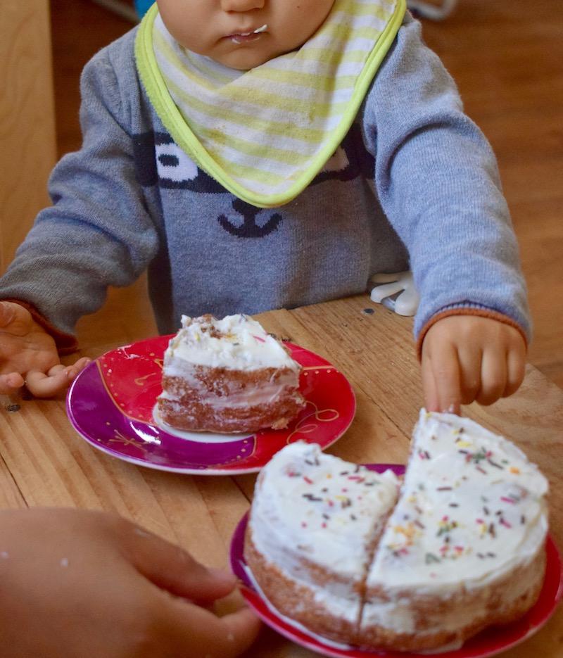 Gâteau express pour l'anniversaire de bébé
