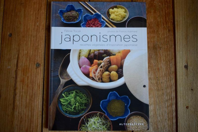 Japonismes - recettes végétales d'inspiration japonaise, Félicie Toczé