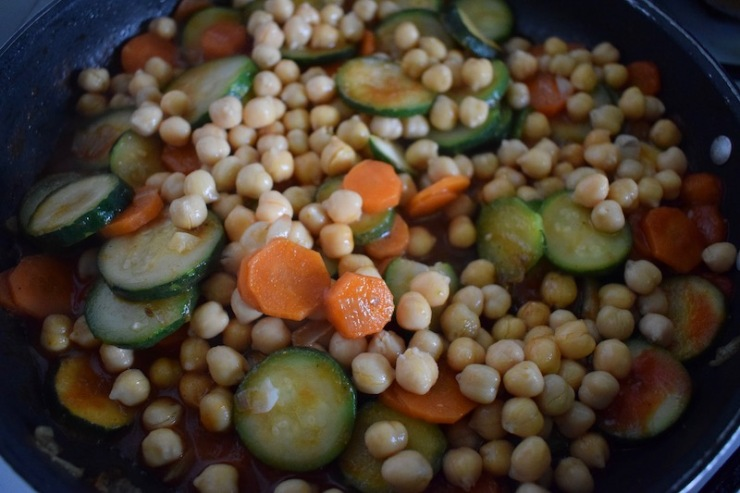 batch cooking (ragoût de légumes à la marocaine)