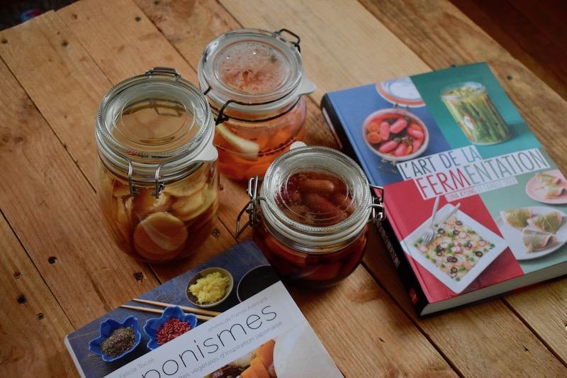 fermentation de légumes : façon pickles